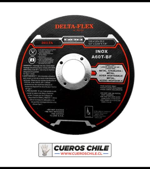 Disco Corte Delta 4,1/2″ X 1 Mm Inox