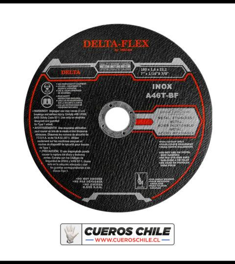 Disco De Corte Delta De 7 X 1,6 Mm Inox