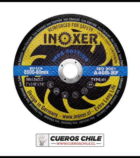 Disco De Corte INOXER De 7 X 1,6 Mm Inox