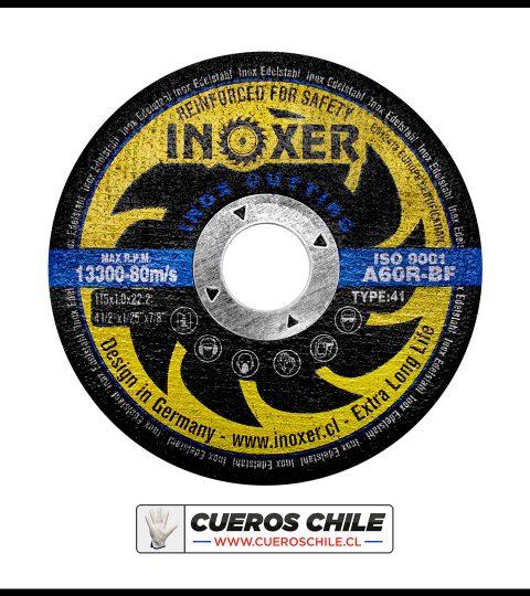 Disco Corte INOXER 4,1/2″ X 1 Mm Inox