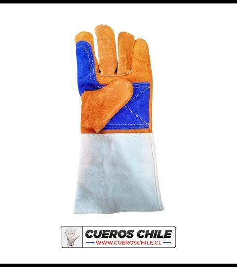 Guante De Soldador Azul-Naranjo Kevlar