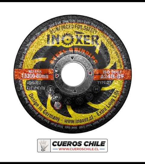 Disco Desbaste INOXER De 4 1/2 X 6 Mm Metal
